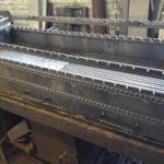 мангальная вставка из стали