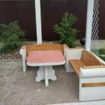 мебелль для сада из бетона