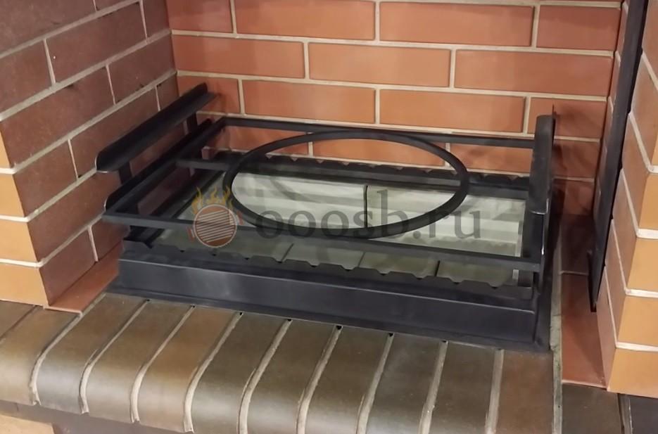адаптера рамка для установки казана в барбекю