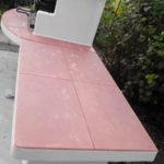 столешница для печи барбекю из бетона