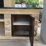 шкаф для кухонной утвари для барбекю