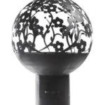 уличная чаша для костра в виде шара сферы
