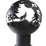 костровая чаша шар сфера для разведения огня