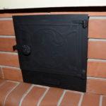 стальная дверь для печи под казан