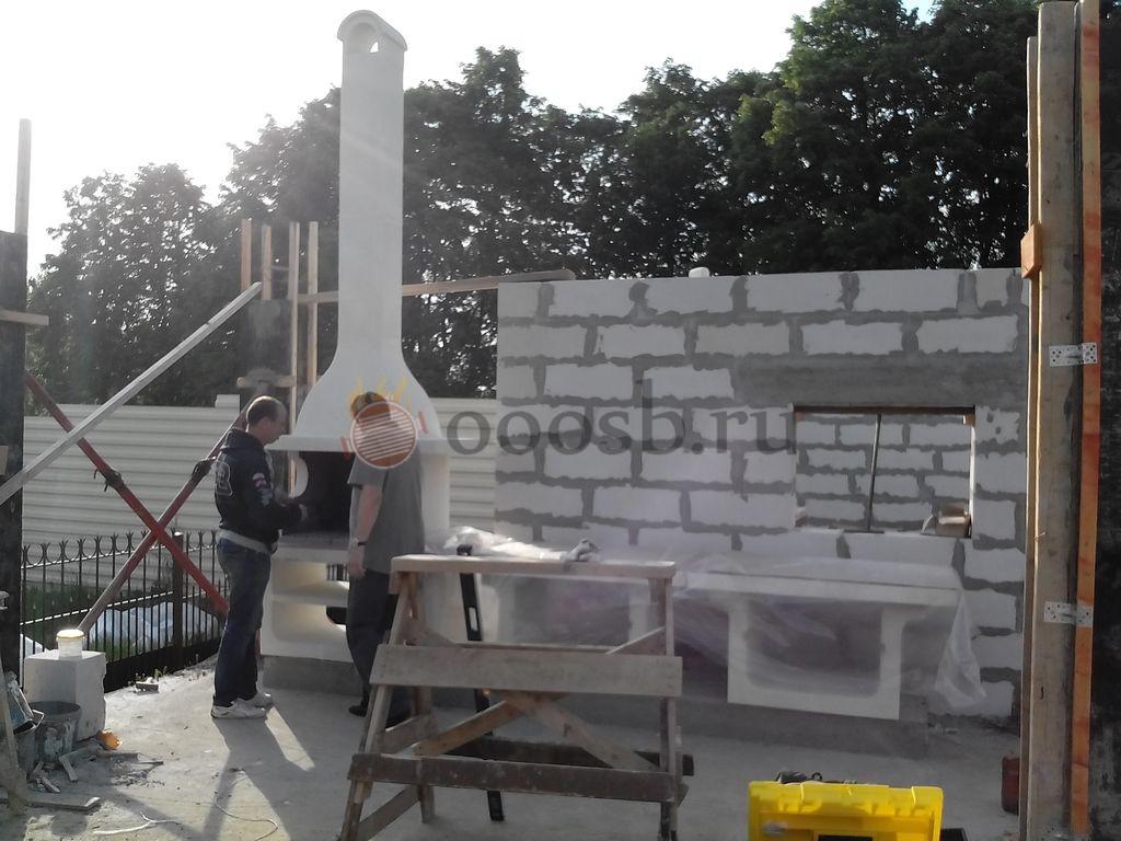 Мангал со столешницей в Солнечногорске