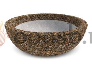 Вазон чаша олимп из камня