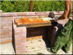 строительство барбекю печи из кирпича самому руками