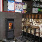 Пристенная печь для дачи бозена