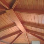 красивый потолок кровля
