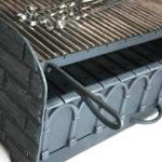 чугунный колосник и решетки мангал