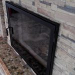 дверцы для камина с огнеупорным стеклом купить