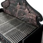 вставка из чугуна в барбекю печь или камин