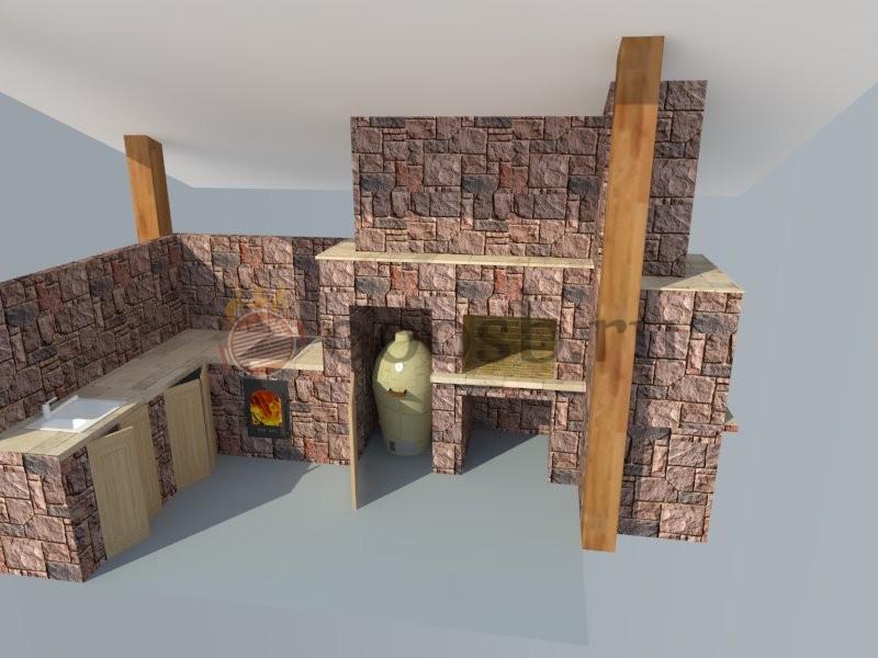 3D-проект печи