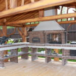3D-проект печки
