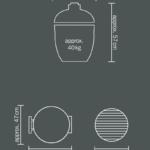 печь барбекю из кирпича