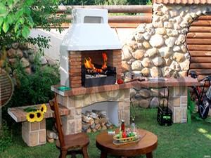 Барбекю печь, которая идеально станет на вашей даче