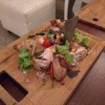 Жарим мясо в monolith