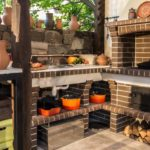 печь барбекю садовая купить