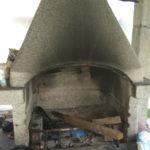 мангал с печью под казан