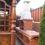 уличная печь и мангал и коптильня