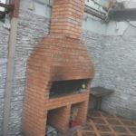 печь мангал с коптильней