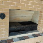 мангал и печь под казан из металла