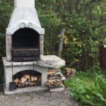 барбекю печь из железа