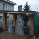 готовые барбекю из бетона
