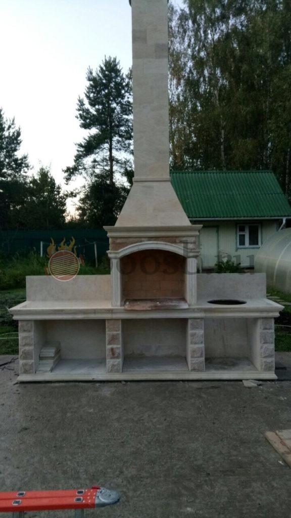 барбекю для дачи на дровах