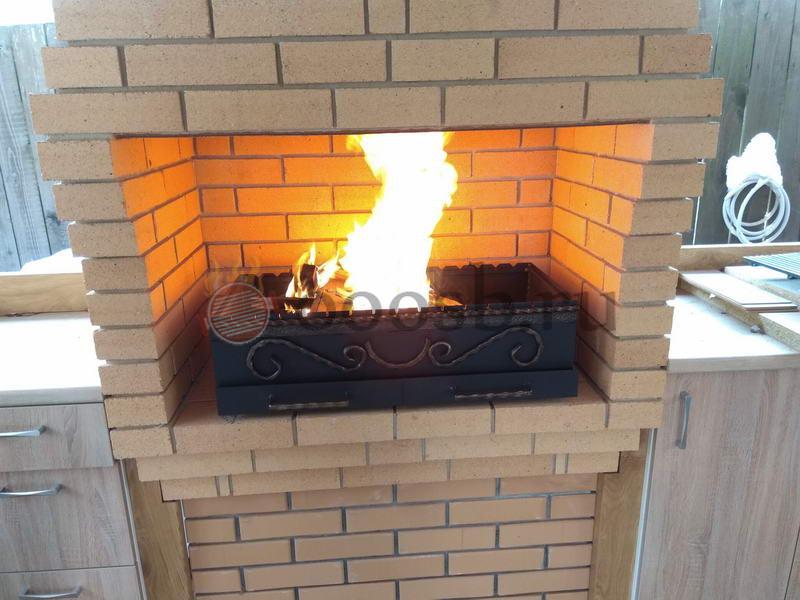 печи барбекю мангалы печь во дворе с мангалом