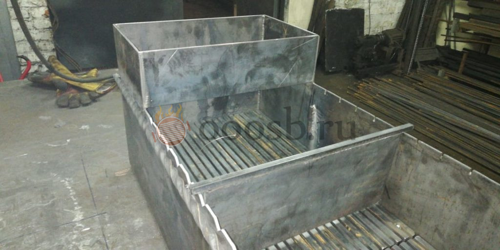 печь мангал коптильня из кирпича