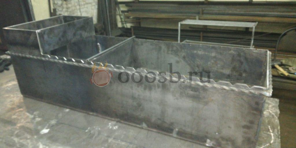 печь мангал с плитой из кирпича